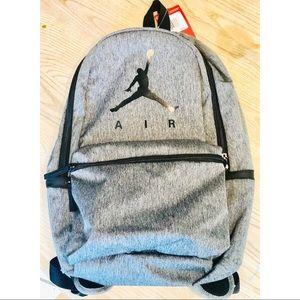 "Nike Air Jordan ""Jumpman Logo"" Heather Backpack"